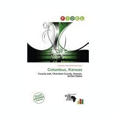 Columbus, Kansas - Carte in engleza
