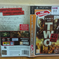 Army of Two: The 40th Day (PSP) (ALVio) + sute de Jocuri PSP Electronic Arts, Shooting, 16+
