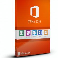 Microsoft Office Professional 2016 - in limba Romana sau Engleza - Aplicatie PC