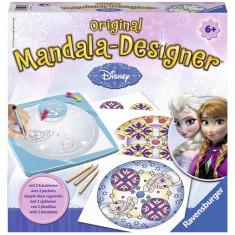 Set De Creatie Mandala 2 In 1 Frozen - Jocuri arta si creatie Ravensburger