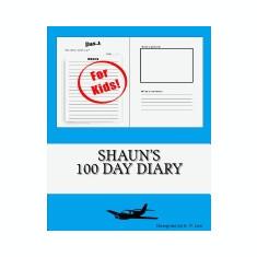 Shaun's 100 Day Diary - Carte in engleza