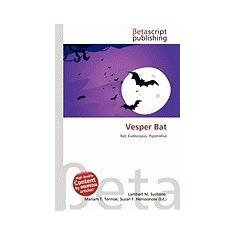 Vesper Bat - Carte in engleza