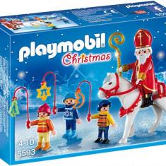 Sfantul Nicolae Si Parada Luminoasa Playmobil