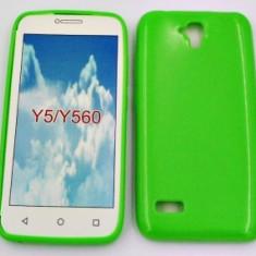 Husa Jelly Case Huawei Y5 GREEN - Husa Telefon Huawei, Plastic