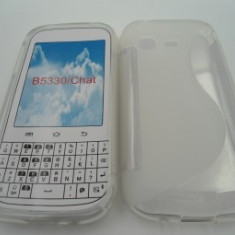 Toc silicon S-Case Samsung Galaxy Chat B5330 Transparent - Husa Telefon