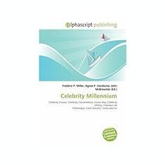 Celebrity Millennium - Carte in engleza
