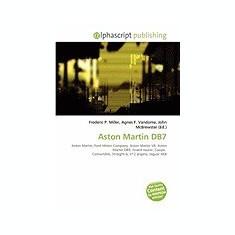 Aston Martin Db7 - Carte in engleza