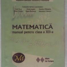 Manual matematica M1, clasa XII - editura Fair Partners - Manual scolar, Clasa 12