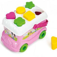 Autobuz De Sortat Forme Minnie Clementoni