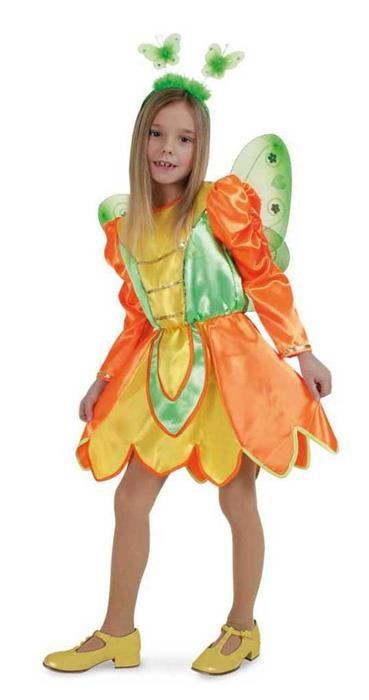 Costum Pentru Serbare Zana Fluturas 128 Cm