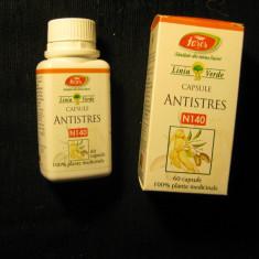 80 capsule ANTISTRES FARES supliment plante anti stres anti depresie - Produs antistres