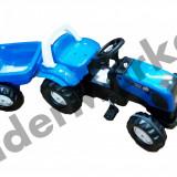 Tractor cu pedale si remorca pentru copii