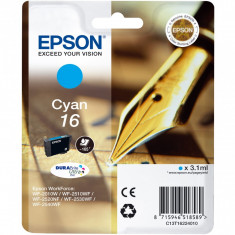 Cartus Epson C13T16224010 Nr. 16 Cyan - Cartus imprimanta