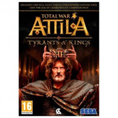 Total War Attila Tyrants And Kings Pc - Jocuri PC Sega, Actiune, 16+
