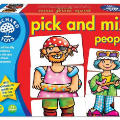Joc Educativ Asociaza Personajele Pick And Mix People orchard toys
