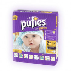 Scutece Copii Pufies Nr 2 Mini 3-6 Kg 80 Bucati - Scutece unica folosinta copii