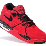 Nike AIR FLIGHT 89 Rosu - Negru - Adidasi barbati, Marime: 44, Culoare: Din imagine