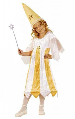 Costum Pentru Serbare Zana Stelelor 116 Cm foto