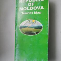 HARTA TURISTICA REPUBLICA MOLDOVA