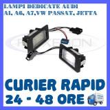 SET LAMPI NUMAR INMATRICULARE AUDI A1, A6, A7, VW GOLF 6 PLUS, JETTA, PASSAT, Universal, ZDM