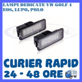 Cumpara ieftin SET LAMPI NUMAR INMATRICULARE 18 LED SMD - VW GOLF 4, EOS, LUPO, POLO