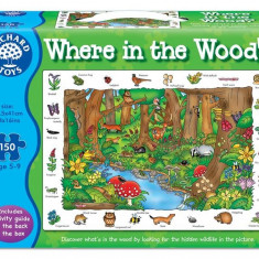 Puzzle orchard toys In Limba Engleza In Padure (150 Piese) Where In The Woods?