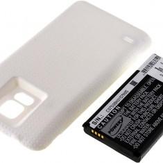 Acumulator compatibil Samsung Galaxy S5 alb 5600mAh