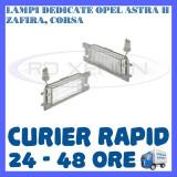 SET LAMPI NUMAR INMATRICULARE OPEL ASTRA H, VECTRA C CORSA D, INSGNIA, ZAFIRA B - Led auto ZDM, Universal