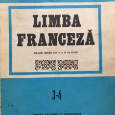 LIMBA FRANCEZA MANUAL PENTRU ANII III SI IV DE STUDIU - Doina Popa-Scurtu - Curs Limba Franceza