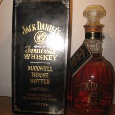 Whisky, JACK DANIEL'S gold old nr° 7, L.1, 5 gr.43 ano 2004 sticla 006066