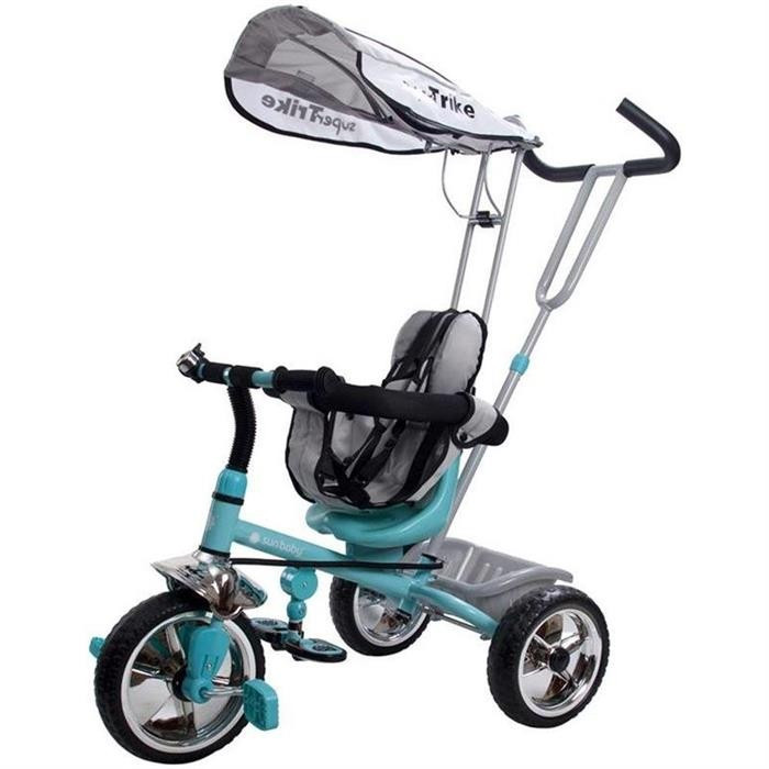 Tricicleta Super Trike Sun Baby Turcoaz foto mare