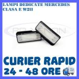 SET LAMPI PLACUTA INMATRICULARE 18 LED SMD - MERCEDES CLASA C W203, S203, E W211 - Led auto ZDM, Universal