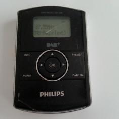 Philips DAB radio DA 1200 DAB+ FM portabil acumulator reincarcabil microusb - Aparat radio Philips, Digital