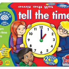 Joc Educativ Loto In Limba Engleza Citeste Ceasul Tell The Time orchard toys