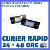 SET LAMPI NUMAR INMATRICULARE VOLKSWAGEN VW BORA, GOLF 4, PASSAT B5.5, TOUAREG, Universal, ZDM