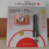 Lanterne LED LENSER sigilate set 2 buc. - Lanterna