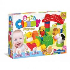 Clemmy - Ferma Vesela Cu Cuburi - Jucarie zornaitoare Clementoni