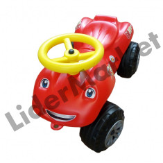 Masinuta fara pedale pentru copii - rosie