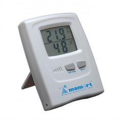 Termometru Digital De Camera Cu Masurator De Umiditate 1756 - Termometru copii
