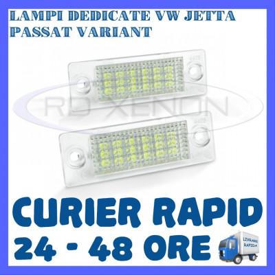 SET LAMPI NUMAR INMATRICULARE VOLKSWAGEN VW JETTA, PASSAT B6 VARIANT, TOURAN foto