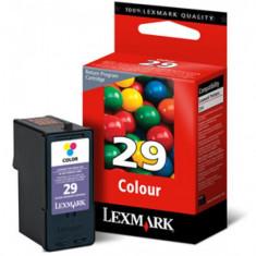 Cartus Lexmark 18C1429E Nr. 29 Color - Cartus imprimanta