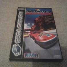 Daytona USA Championship Circuit Edition - SEGA SATURN ( GameLand ) - Jocuri Sega, Curse auto-moto, 3+, Multiplayer