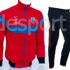Trening NIKE FC Steaua Bucuresti - Bluza si Pantaloni Conici - Pret Special - - Trening barbati, Marime: S, Culoare: Din imagine