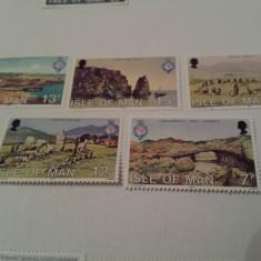 Anglia/man 1980 geografie / serie MNH - Timbre straine, Nestampilat