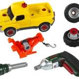 Set Masina Cu Accesorii Bosch - Masinuta electrica copii