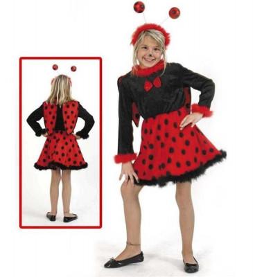 Costum Pentru Serbare Buburuza Cu Antene 98 Cm foto