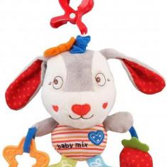 Jucarie Muzicala Din Plus Bunny - Jucarie zornaitoare Baby Mix