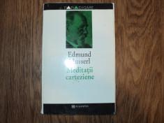 Edmund Husserl - Meditatii carteziene foto