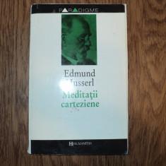 Edmund Husserl - Meditatii carteziene