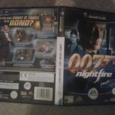 James Bond 007 Nightfire - Nintendo Gamecube ( GameLand ), Actiune, 3+, Single player
